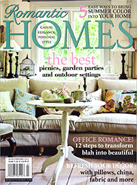 Romantic Homes July 2012